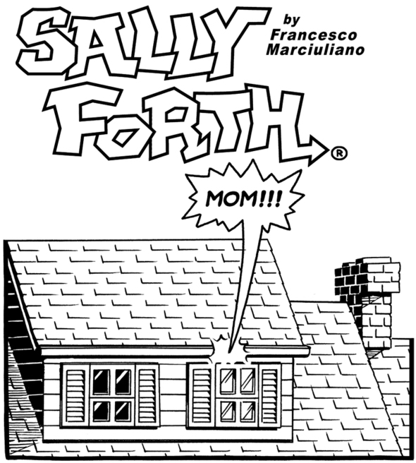 Jim Keefe and the art of a SALLY FORTH Sunday page
