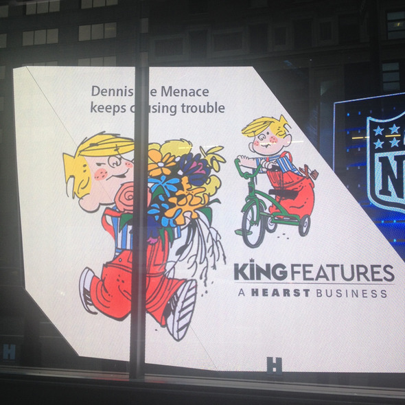 DENNIS THE MENACE appears via HearstLive