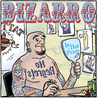 Bizarro Tattoos