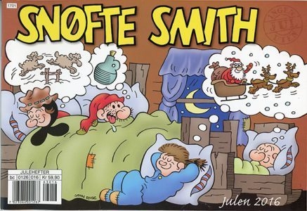 Last year's Snofte Smith Christmas Comic Book created for our wonderful readers in Norway!