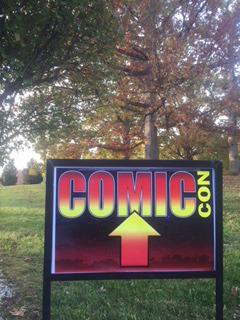 All signs point to a fun day at the NRCC Comic Con!