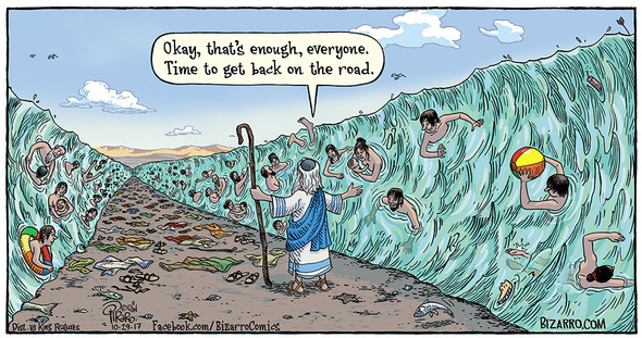 Dan Piraro's Bizarro: Wet a While