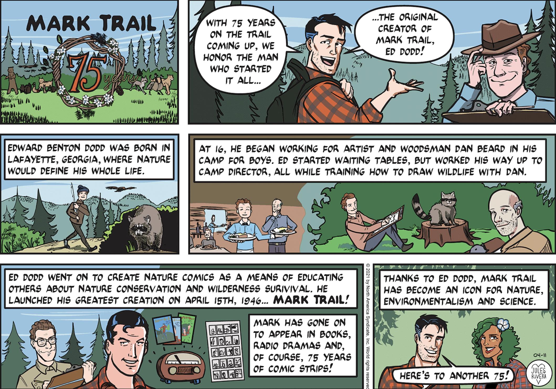 Happy Birthday, Mark Trail!
